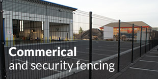 Commerical and security fencing