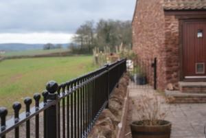 Residential railings detail
